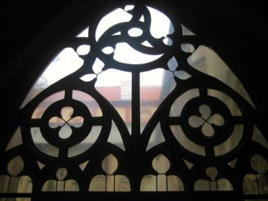 Window in the cloisters