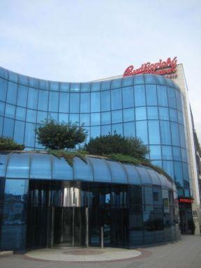 Budvar entrance