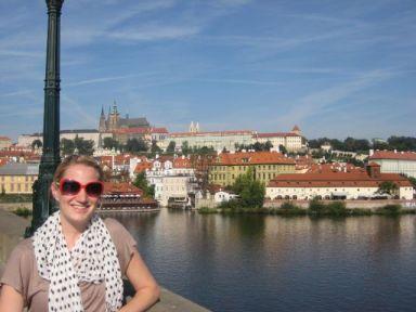 Shana with St. Vitus & Prague Castle