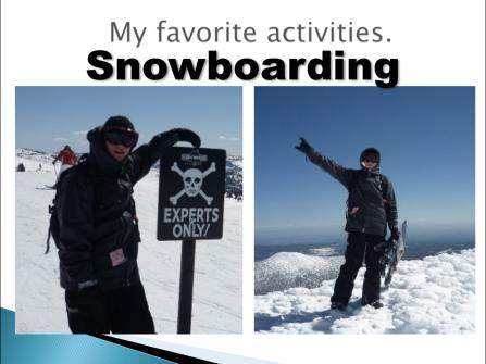 Snowboarding!!