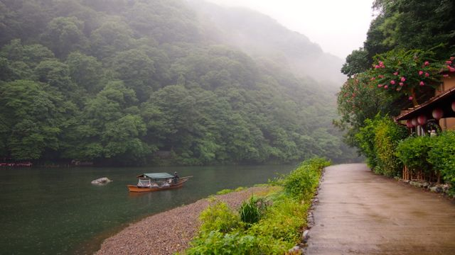 The Hozu River