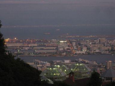 Kobe from the top of Shin-Kobe Ropeway