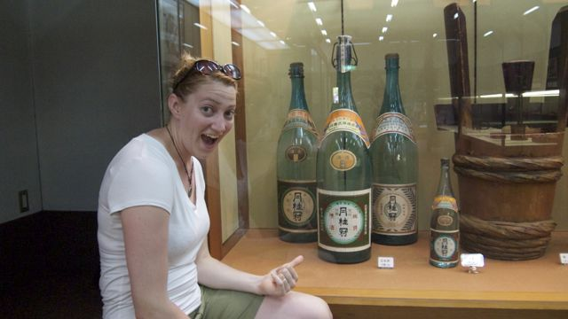 That is a lot of sake