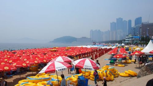 Haeundae in the afternoon