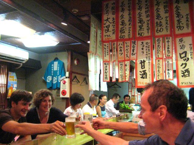 The best way to try sake - Izakaya with fellow travelers
