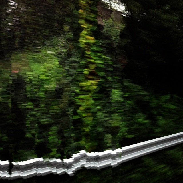 oil painting with the panorama function on the iPhone