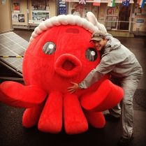 Octopus and me.