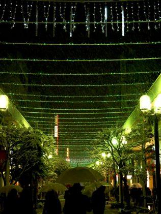 Kokubuncho, green lights