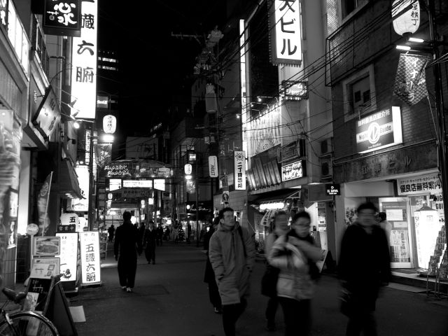 Kokubuncho at night