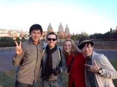 Our imoni host Tatsuya (left)