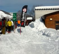 Line at Hakuba 47 lift