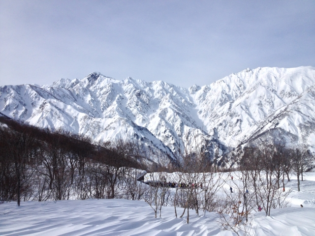 View of Happo-one from Hakuba 47