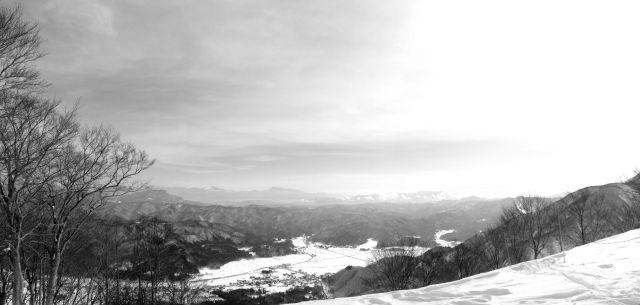 view south from Hakuba Goryu