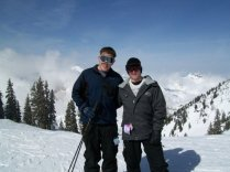 Snowbird with Morgan