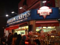Crepes are very popular in Harajuku