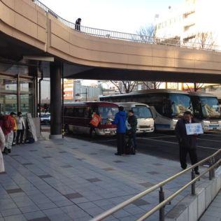 Sendai JR Taxi Stand
