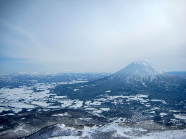 Another shot of Yotei-san from the summit.